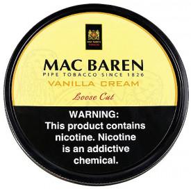 Fumo para Cachimbo Mac Baren Vanilla Cream - Lata (100g)