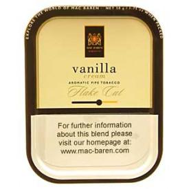 Fumo para Cachimbo Mac Baren Vanilla Cream Flake Cut - Lata (50g)