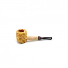 Cachimbo Missouri Corn Cob Mini Varnished Reto - Pit Preta