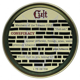 Fumo para Cachimbo Cult Conspiracy - Lata (50g)