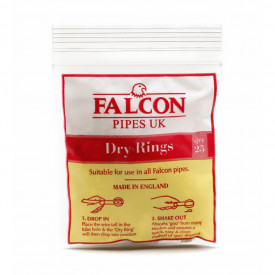 Filtro para Cachimbos Falcon (Dry Rings) - Pacote com 25