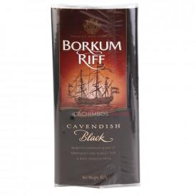 Fumo para Cachimbo Borkum Riff Black Cavendish - Pacote (50g)