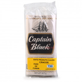 Fumo para Cachimbo Captain Black White - Pacote (50g)