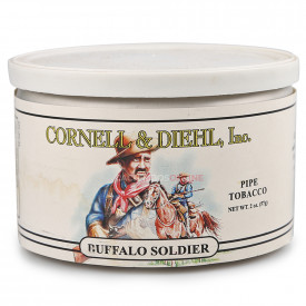 Fumo para Cachimbo Cornell & Diehl Buffalo Soldier - Lata (50g)