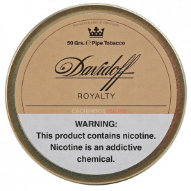 Fumo para Cachimbo Davidoff Royalty 50g
