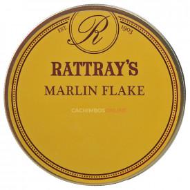Fumo para Cachimbo Rattrays Marlin Flake - Lata (50g)