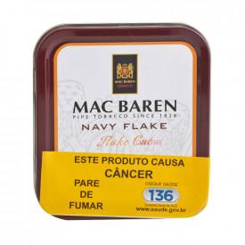 Fumo para Cachimbo Mac Baren Navy Flake - Lata (50g)