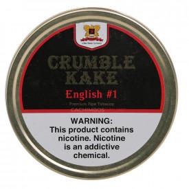 Fumo para Cachimbo Sutliff Crumble Kake English #1 - Lata (42g)